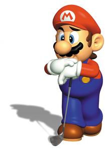 Mario golf 64 mario