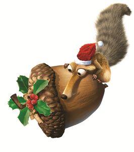 Scrat Christmas 3