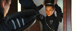 Sophie Cookson as Roxy Morton in Kingsman The Secret Service 11