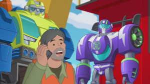 Woodrow with Salvage and Blurr
