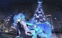 Hatsune-miku-scarf-twintails-sitting-vocaloid-anime-9627