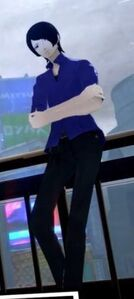 Persona 5 Yusuke in his summer uniform