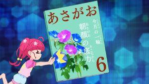STPC18 Hikaru pushes away her grandfather's image of the Morning Glory Magazine