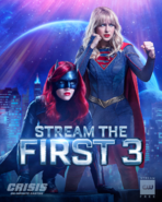 Crisis on Infinite Earths - Stream the first 3 promo 1