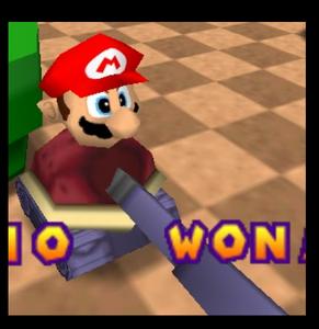 Mario party 2 mario in the war tank