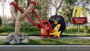 Mcdonalds The Angry Birds movie launch