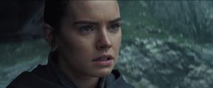 Rey second Force Bond scene