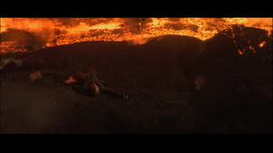 Darth Vader burnt