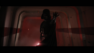 Darth Vader outstretch