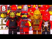 Every LEGO Kai Minifigure EVER MADE!!! - 2018 NINJAGO Collection Update