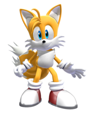 Tails in Shadow The Hedgehog (Video Game)