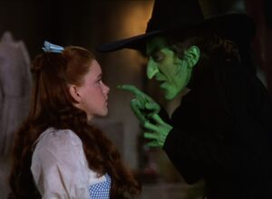 Wizard of oz - dorothy and www