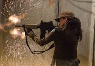 Christian Serratos as Rosita Espinosa in The Walking Dead 8