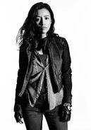 Christian Serratos as Rosita Espinosa in The Walking Dead S07