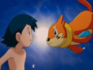Max's Swimming with Buizel