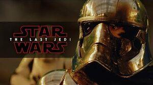 Star Wars The Last Jedi Phasma's End - Deleted Scene
