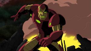 Tony's Iron Man armor (NAHT)