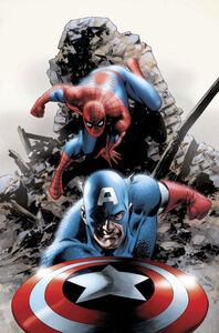 Captain America-and-Spider-Man