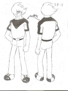 Cyborg 009-Model Sheet2