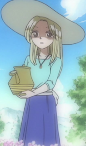 Kaya at Age 14 in the Anime
