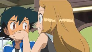 Serena hushed Ash