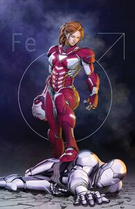 Superior Iron Man Vol 1 9 Textless