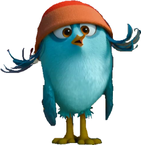 Angry Birds Movie promo Willow