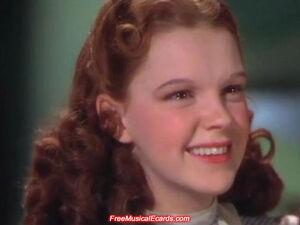 Dorothy smiling