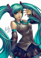Miku by wuduo-d5uo72n