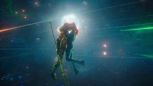 Arthur and Mera kiss