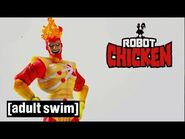 Real Characters from the DC Universe - Firestorm - Robot Chicken - Adult Swim