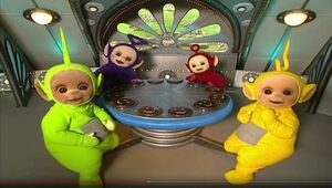 Teletubbies tubby tosat pattern