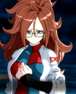 Android 21's good persona
