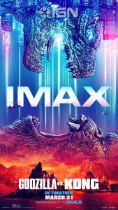 Godzilla vs. Kong official IMAX poster