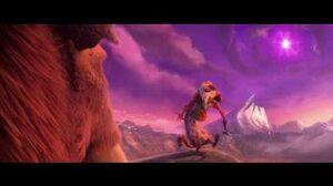 Ice Age Collision.Bucks Grandfather Scene.