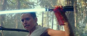 Rey gets the saber
