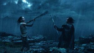 Rey vs Luke TLJ