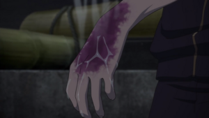 Yato infected with blight