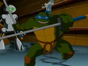 Leonardo ready for action