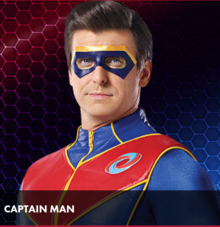 Captain Man Original Suit