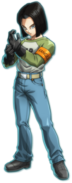 Android 17 (dragon ball fighterz) portrait 11