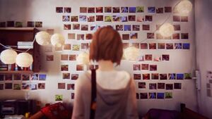 Max Caulfield- Photo Memorial Wall
