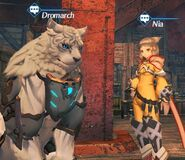 Nia & Dromarch NPC