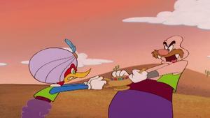 Genie Woody vs Normal Wally