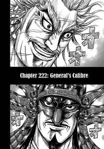 Kingdom Chapter 222