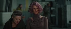 Leia and Holdo - TLJ