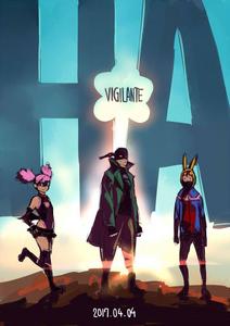 My Hero Academia Vigilantes Manga Volume 1 Court Illustration