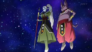 Vados about to destroy a planet
