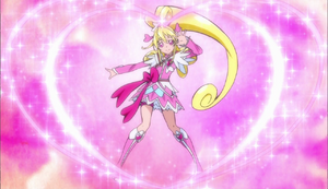 Glitter Cure Heart introductory pose