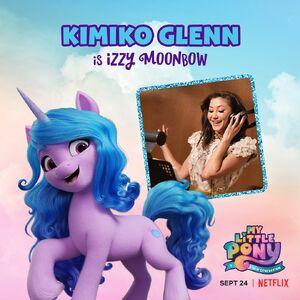 MLP A New Generation - Kimiko Glenn as Izzy Moonbow